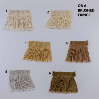 OB-6 BRUSHED RUG FRINGE